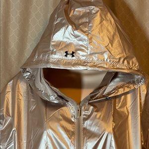Under Armour - Storm - Rose Gold - Rain Jacket NEW